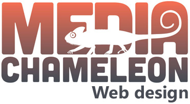 Website Design and hosting by Media Chameleon logo